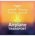 means of transport design vector image