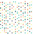 abstract dots seamless pattern background vector image
