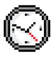 Pixel clock vector image