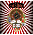 Casino theme vector image
