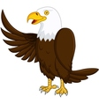 eagle cartoon vector image vector image