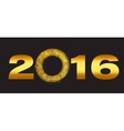 New Year 2016 Background vector image vector image