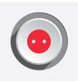 Electric socket base icon Power energy symbol vector image