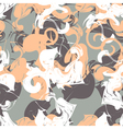abstract ink seamless background vector image