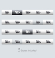 Folders 2 Classic Bar Series vector image