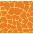 seamless giraffe pattern vector image