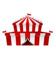 Big Top circus vector image
