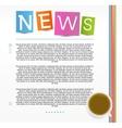 Education News vector image