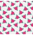 Sticker rose vector image