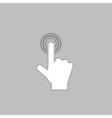 hand click computer symbol vector image