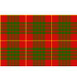 clan cameron tartan seamless background vector image