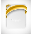Business card vector image