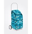 modern disco shopping trolley bag vector image