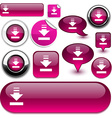 Download fuchsia signs vector image
