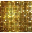 Glittering Gold mosaic background pattern vector image