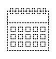calendar business plan strategy icon vector image