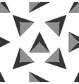 Triangle geometric seamless pattern 4 vector image