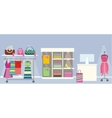 Woman s Clothes Shop Concept vector image