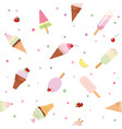 festive seamless pattern background with paper vector image
