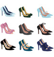 Pretty shoes vector image