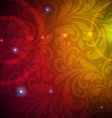Seamless Wallpaper with Sunshine vector image
