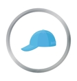 Cap icon of for web and mobile vector image