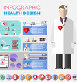 Healthcare Infographic vector image
