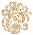Jewelry with pearls vector image