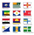 Flags of world-17 vector image