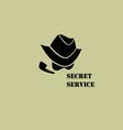 Secret service vector image