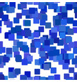 seamless abstract chaotic square pattern vector image vector image