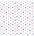 Seamless watercolor drops pattern vector image