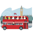 london sightseeing vector image vector image