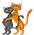 Family cat vector image