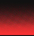 halftone comic background vector image