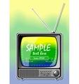 Summer Color TV vector image vector image