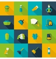 Cleaning Icon Flat vector image