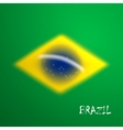 blurred background in brazil flag concept for vector image