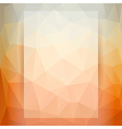 Abstract geometric triangles pattern vector image