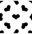 Heart seamless pattern 2 vector image