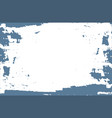 pale blue paint on white background vector image