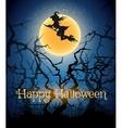 Happy Halloween Theme vector image