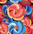 Beautiful pattern flower vector image