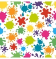 Paint splats pattern vector image