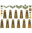 British Army insignia vector image vector image