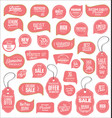 modern sale stickers collection 9 vector image