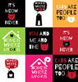 Romantic greeting card with quote about home Home vector image