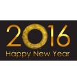 New Year 2016 Background vector image