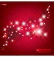 star glow background vector image