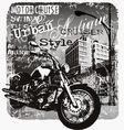 Motorcruise urban style vector image